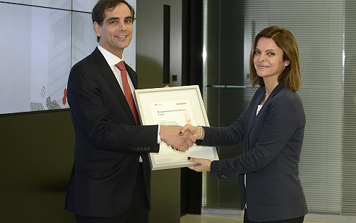 La Unidad de Gas de Cepsa obtiene el Sello de Excelencia Europea EFQM 500+